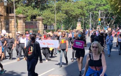 Women march for justice and demand respect at work