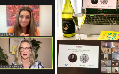 Cheese, wine, resilience, happiness and lockdown tips. Zoom has never been so much fun.